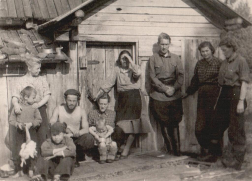 Остров Лодейный, 1951 г.