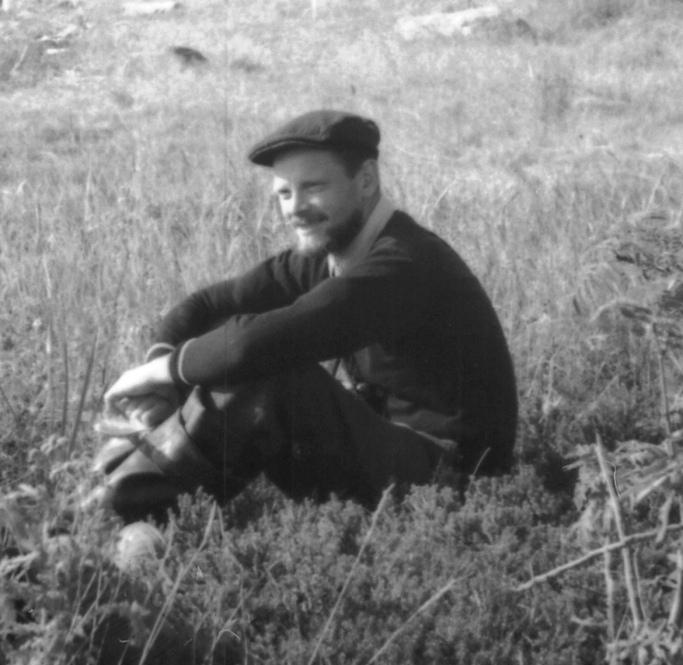1961 г. На островах заповедника.