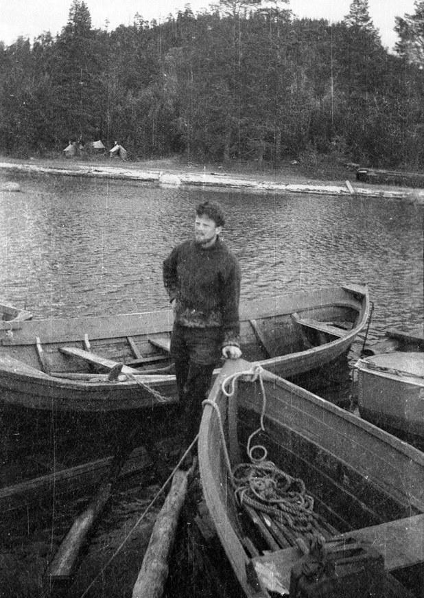 1968 г. Около острова Ряжков.